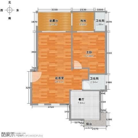 凤凰水城御河湾3室2厅4卫0厨150.00㎡户型图