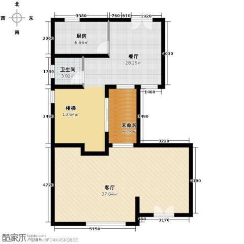 双湖明珠2厅1卫1厨337.00㎡户型图