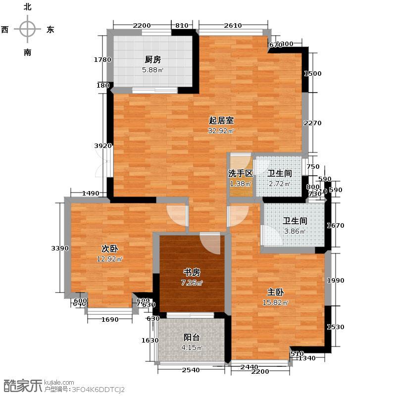 金浦名城世家99.01㎡户型10室