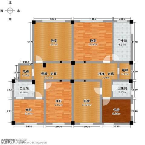 氧立方森林公馆3室0厅3卫0厨230.00㎡户型图