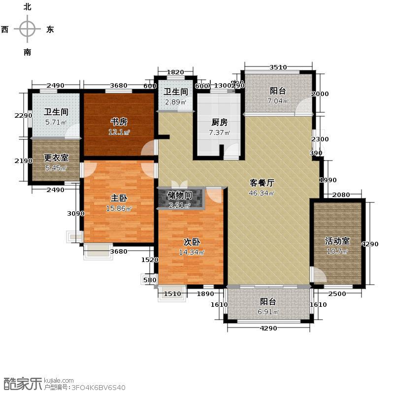 中豪天禄163.00㎡丙-2户型10室