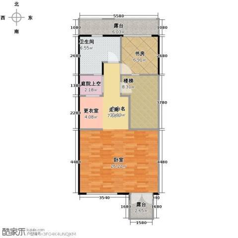 佳兆业珊瑚湾别墅1室0厅1卫0厨190.00㎡户型图
