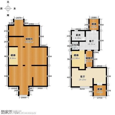 双湖明珠2厅1卫1厨267.00㎡户型图
