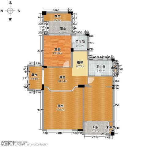 富力红树湾6室3厅6卫0厨253.00㎡户型图