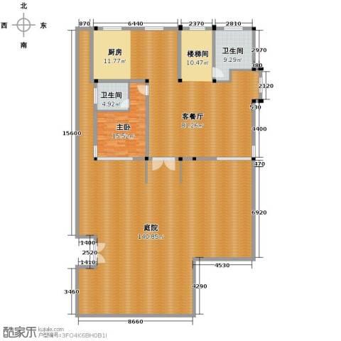 海景华苑1室1厅2卫0厨340.00㎡户型图