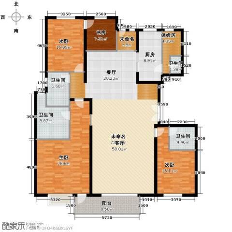 建投十号院5室2厅4卫0厨227.00㎡户型图