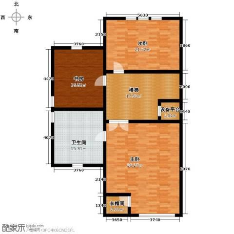 汇锦庄园3室0厅2卫0厨124.93㎡户型图