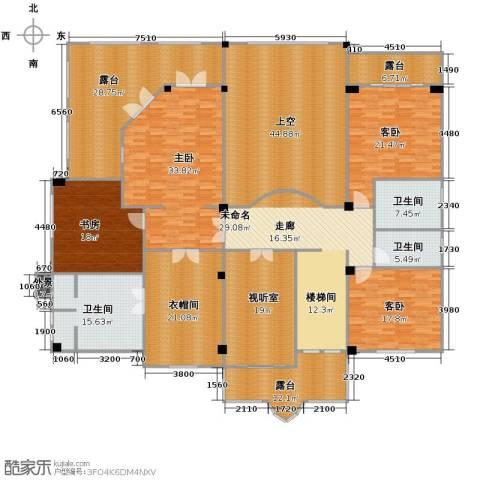 富力红树湾7室6厅6卫0厨522.00㎡户型图
