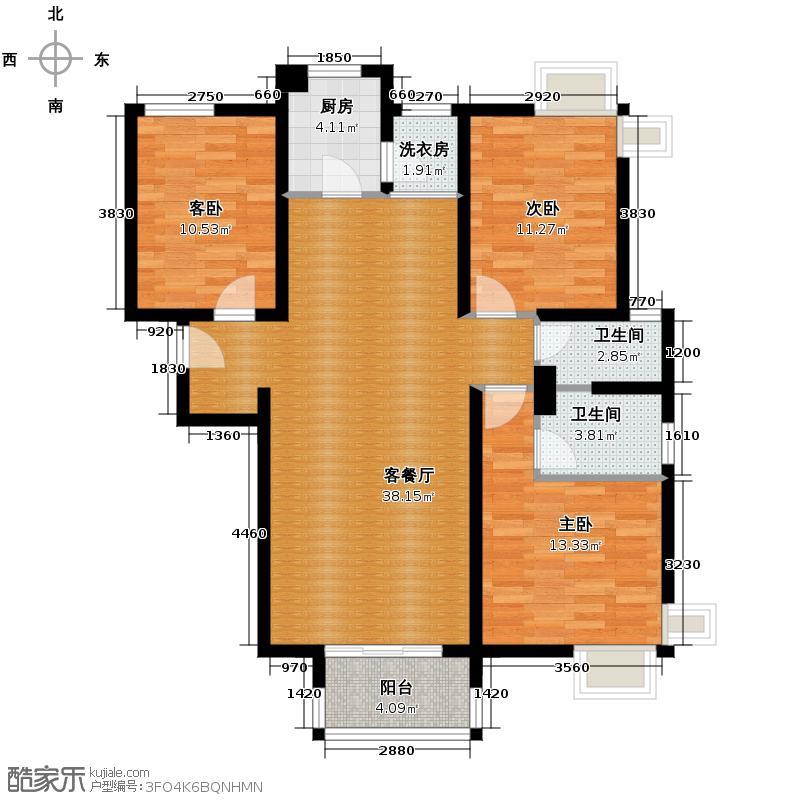 �灞半岛131.00㎡-138套户型10室