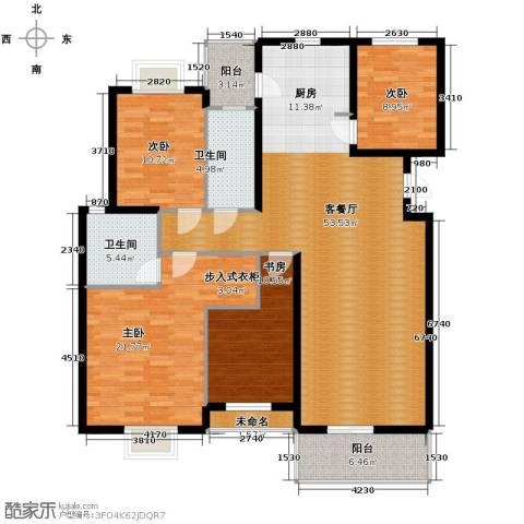 金海・香滨湾4室1厅2卫0厨152.00㎡户型图