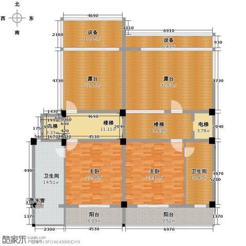 氧立方森林公馆2室0厅2卫0厨280.00㎡户型图