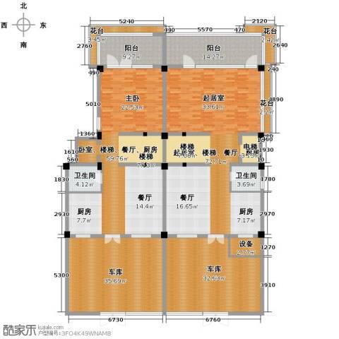 氧立方森林公馆2卫0厨242.98㎡户型图
