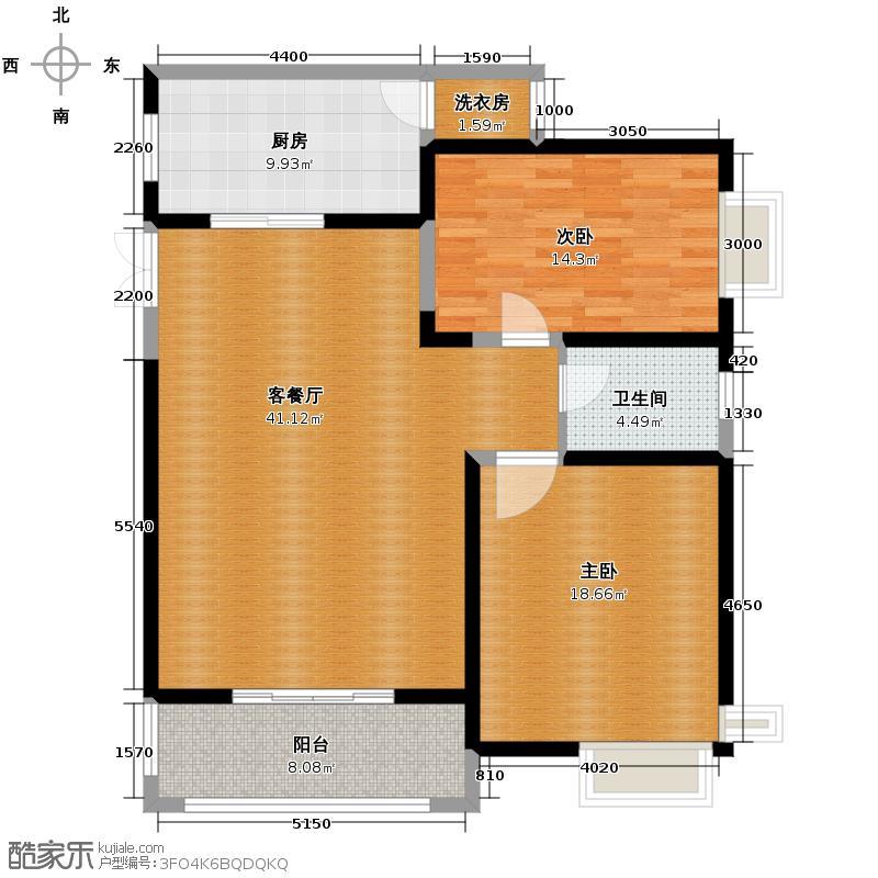 �灞半岛95.39㎡--28套户型10室