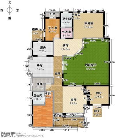 山水华门1室0厅2卫1厨373.00㎡户型图