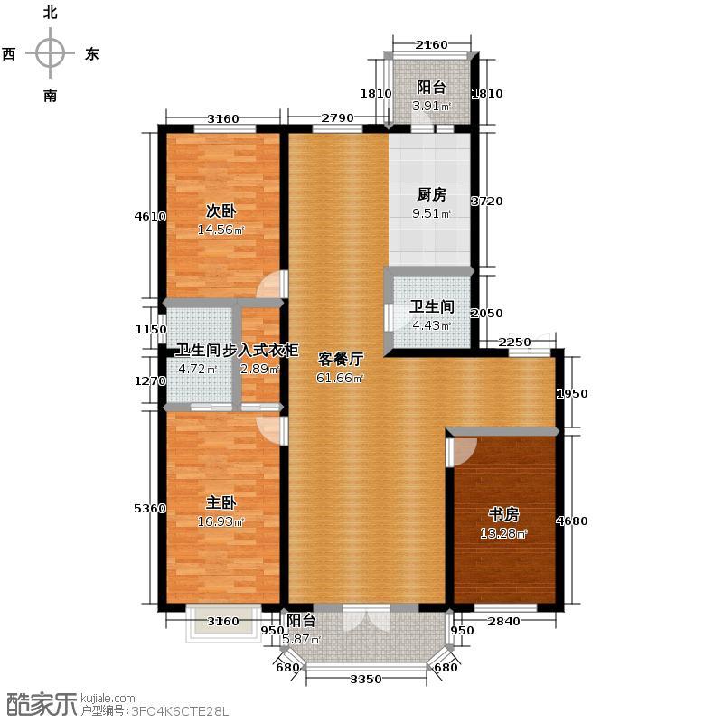 美域江岛145.40㎡使用面积12627户型10室