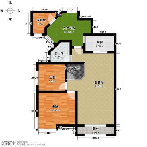 观天下2室2厅1卫0厨114.00㎡户型图