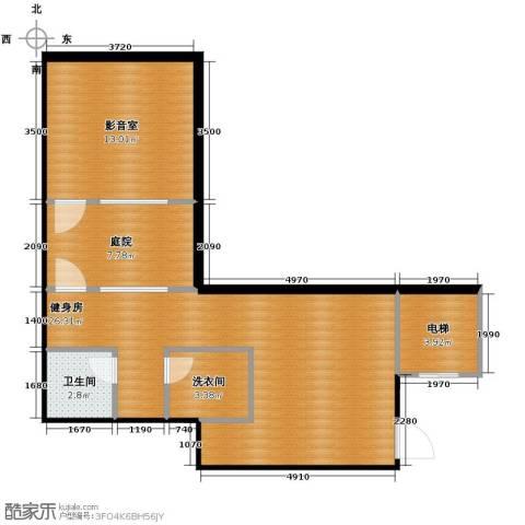 凤凰山庄2厅1卫0厨62.00㎡户型图