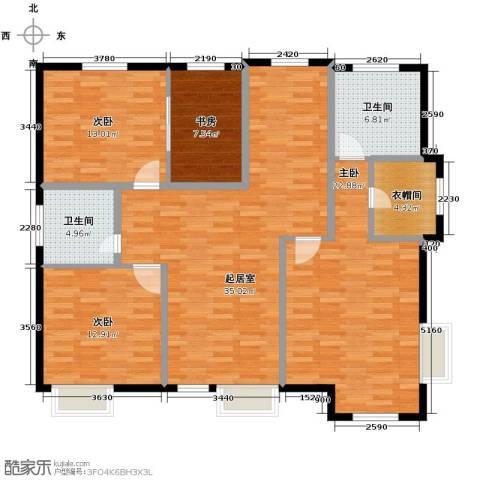 海景华苑4室0厅2卫0厨150.00㎡户型图