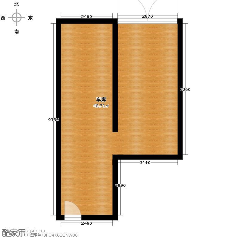 品院45.54㎡Cn217M2户型5室3厅3卫