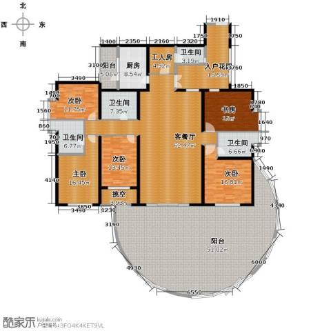 滨湖世纪城5室1厅4卫1厨399.00㎡户型图