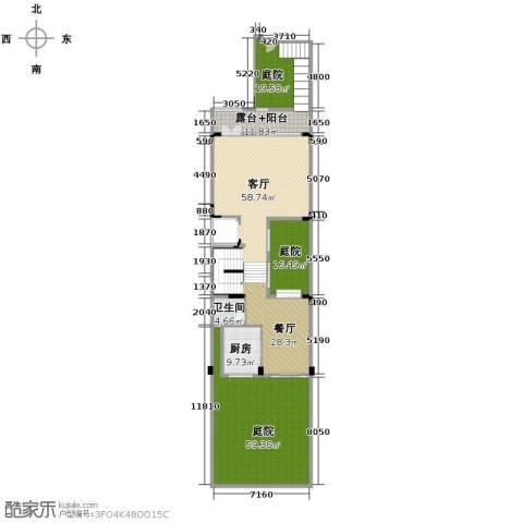 广州星河丹堤2厅1卫1厨288.00㎡户型图