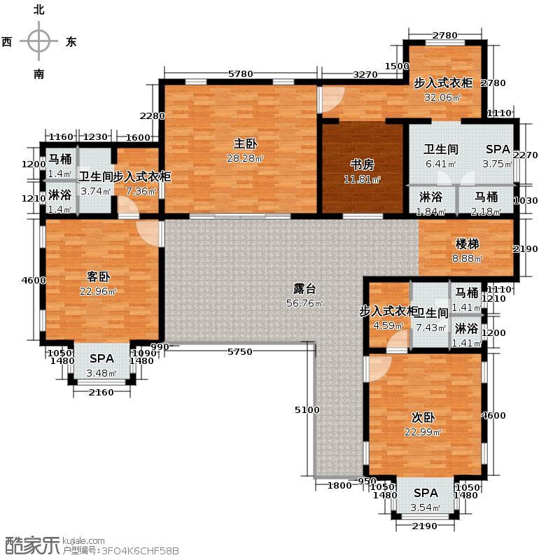 勐巴拉六国皇家植物园度假秘境206.39㎡西双版纳户型10室