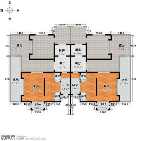 勐巴拉六国皇家植物园度假秘境379.00㎡户型图