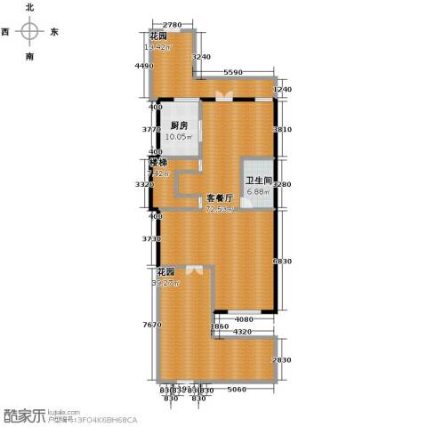 凤凰山庄2厅1卫0厨176.00㎡户型图