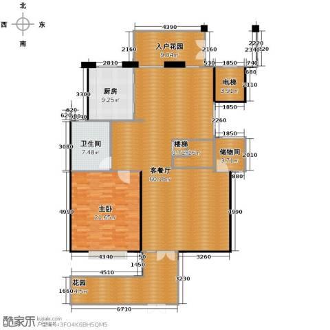 凤凰山庄4室2厅3卫0厨210.00㎡户型图