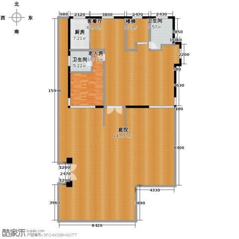 海景华苑1室1厅2卫1厨343.00㎡户型图