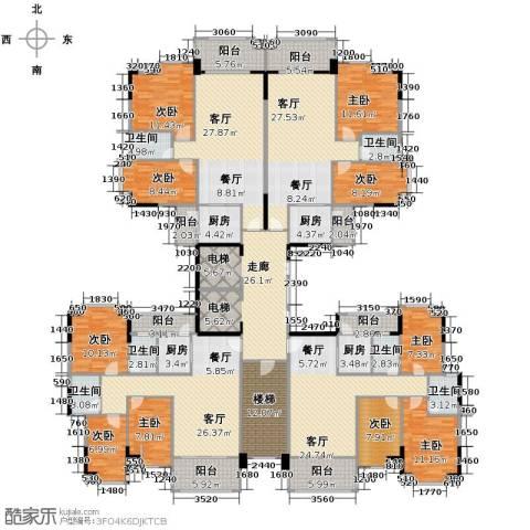 奥米茄花园9室4厅6卫4厨418.00㎡户型图