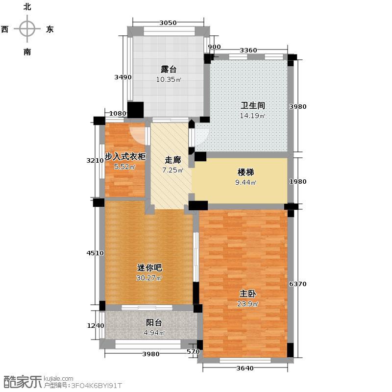 百家乐西园103.12㎡B五层户型10室