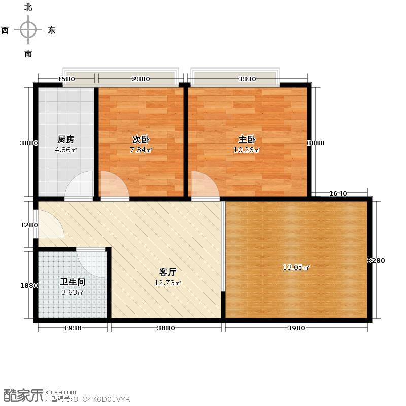 金大地191256.80㎡金大地户型1室1厅1卫
