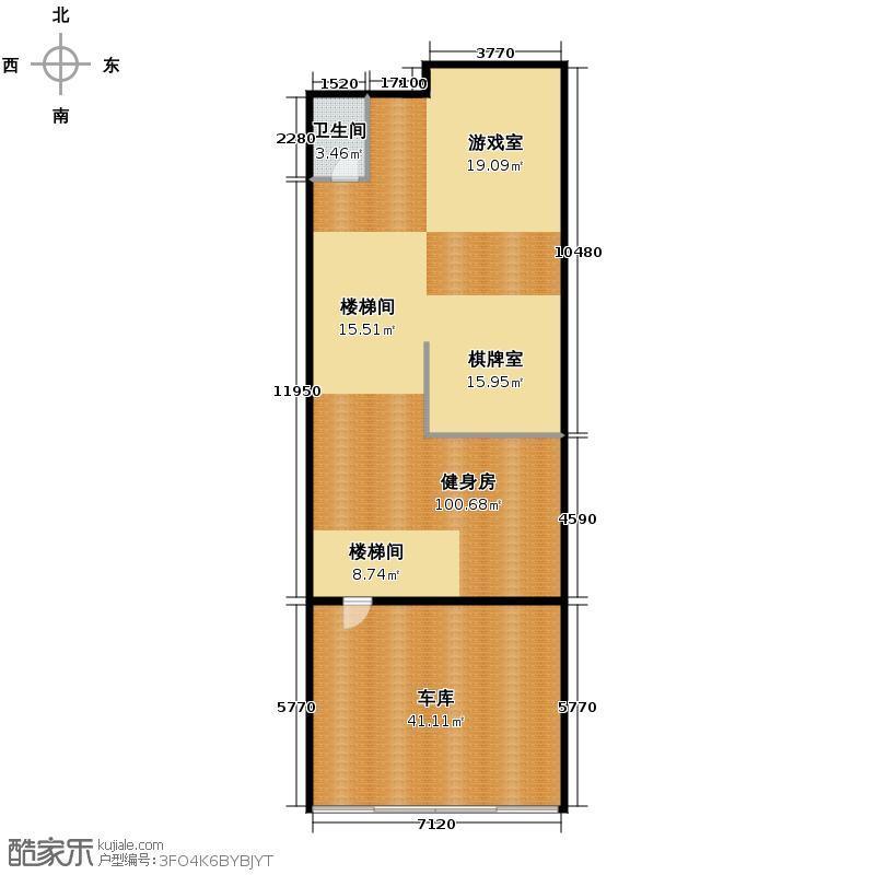 西溪山庄248.00㎡34号楼南入口东边套户型10室