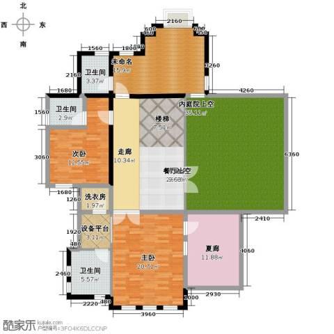 山水华门2室0厅3卫0厨194.00㎡户型图