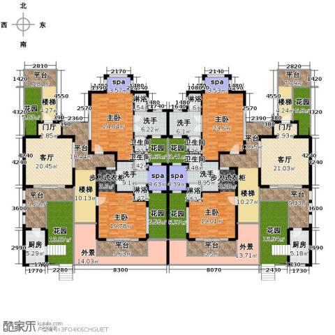 勐巴拉六国皇家植物园度假秘境497.00㎡户型图
