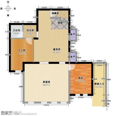 山水华门1室0厅1卫0厨120.00㎡户型图