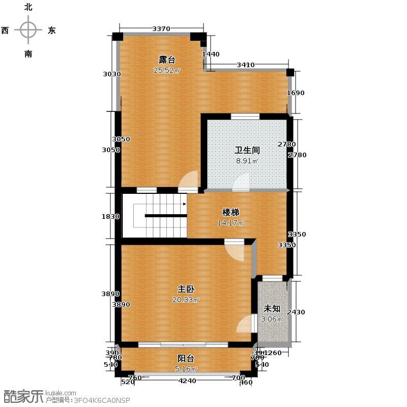 米拉晶典213.00㎡房型多联别墅户型10室