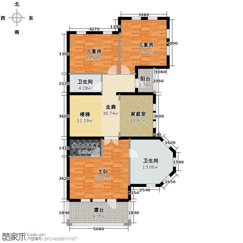 金都夏宫400.00㎡六联3#_房号6-2户型10室