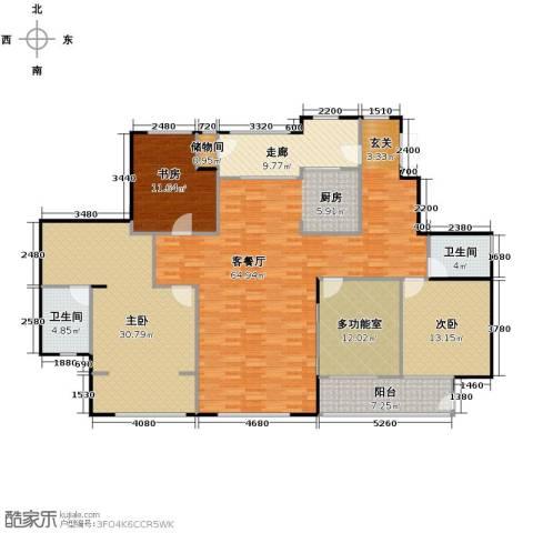 SR国际新城3室1厅2卫0厨221.00㎡户型图