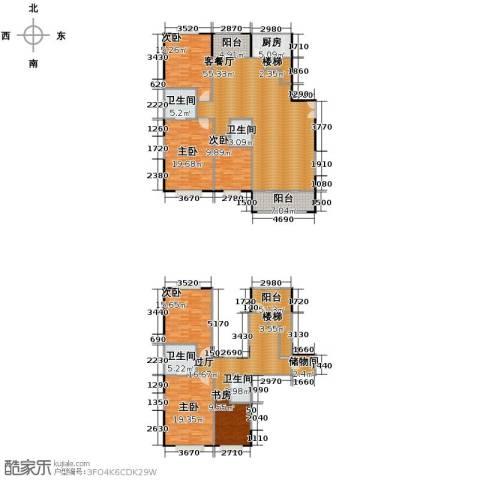 益华御才湾6室1厅4卫1厨270.00㎡户型图