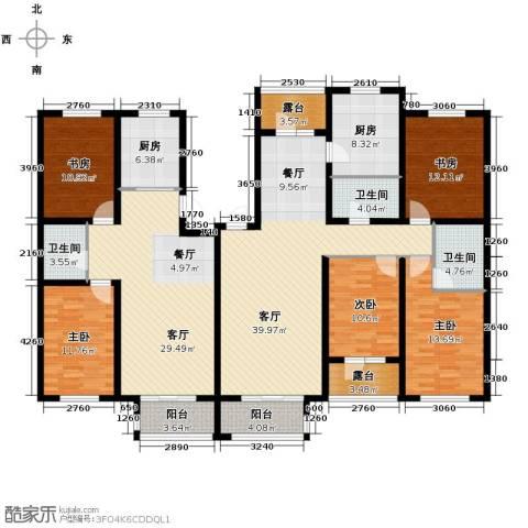 名仕雅居2室2厅1卫0厨170.36㎡户型图
