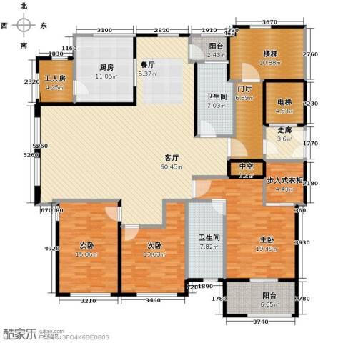 青鸟中山华府4室2厅2卫0厨190.00㎡户型图