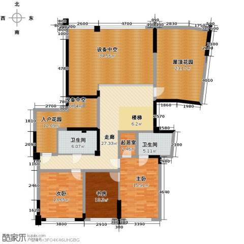 海威国际3室0厅2卫0厨303.00㎡户型图