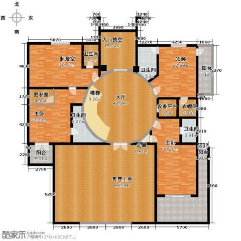 汇锦庄园4室1厅2卫0厨358.38㎡户型图
