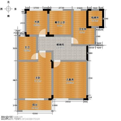 凤凰山庄3室0厅2卫0厨115.00㎡户型图