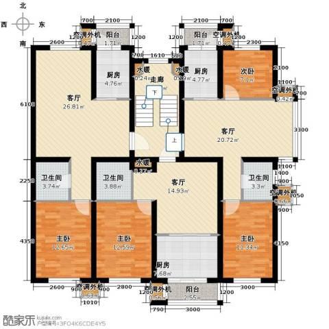 名仕雅居1室2厅1卫0厨155.97㎡户型图