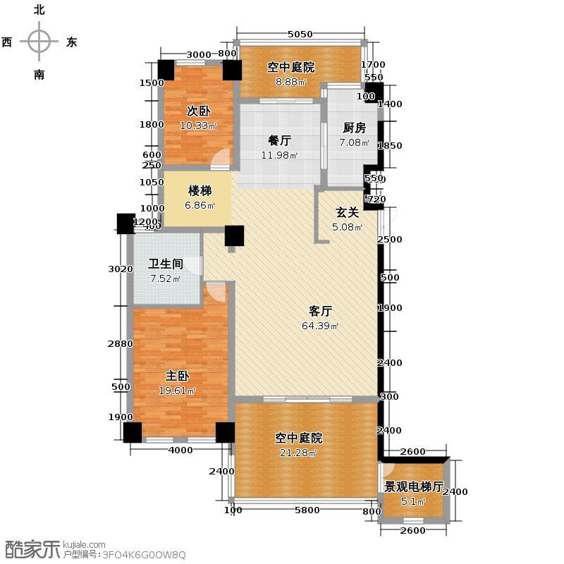 和家园285.00㎡户型10室