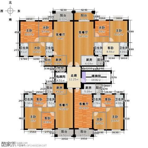 丽南名都9室4厅8卫4厨529.00㎡户型图