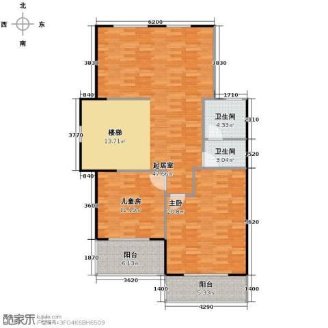 凤凰山庄2室1厅1卫0厨99.49㎡户型图